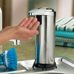 10oz Stainless Auto Handsfree Sensor Touchless Soap Dispense