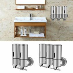 1500ml Wall Mounted Soap Dispenser Bathroom Lotion Shampoo C