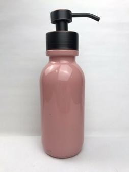 Industrial Rewind 16oz Coral Glass Soap Dispenser For Foamin