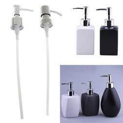 1x Stainless Steel Soap Dispenser Nozzle 12 OZ Built in Hand
