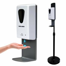 1x Mobile Automatic 1000ml Sanitizer Soap Dispenser w/ Adjus