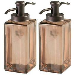 2 pack liquid hand soap lotion glass