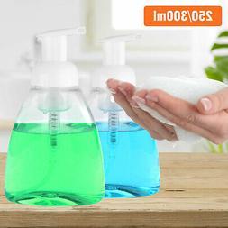 250/300ml Plastic Shower Gel Foaming Bottle Soap Dispenser L