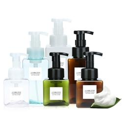 250/450ml Clear Foaming Bottle foaming <font><b>soap</b></fo