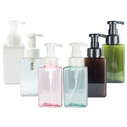250/450ml Plastic Bathroom Liquid Soap Foam Dispenser Contai
