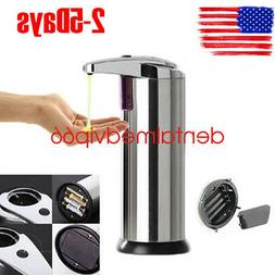 280 ml Stainless Steel Automatic Soap Liquid Dispenser IR To