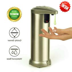280ML Home Bathroom Stainless Steel Hands-free Automatic Soa