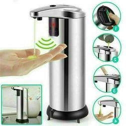 280ml Stainless Auto Handsfree Sensor Touchless Soap Dispens