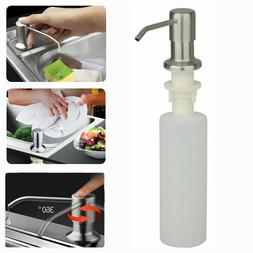 300ml kitchen sink soap dispenser stainless steel