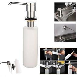 300ml Liquid Soap Dispenser Lotion Pump Cover Built in Kitch