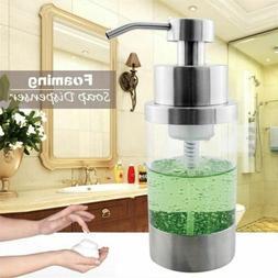 304 Stainless Steel Foam Foaming Soap Dispenser Pump Bottle
