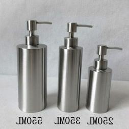304 Stainless Steel Soap Dispenser Hand Sanitizer Bottle for