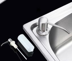 330ml stainless steel soap dispenser kitchen