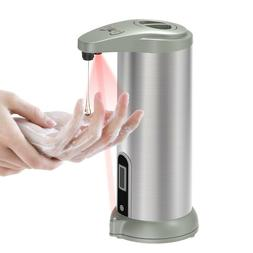 340ML Home Bathroom Stainless Steel Automatic Soap Dispenser