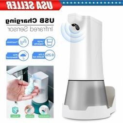 350ML Automatic Foam Soap Alcohol Sprayer Touchless Dispense