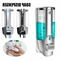 350ml Kitchen Bathroom Wall Mount Dish Soap Dispenser Liquid