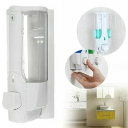350ML Soap Dispenser Bathroom Wall Mount Shower Shampoo Loti