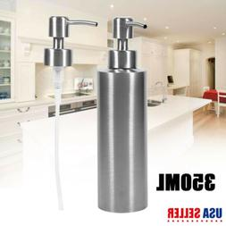 350ML Stainless Steel Soap Dispenser Kitchen Sink Soap Hand