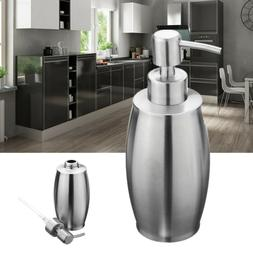 Soap Lotion Dispenser Stainless Steel Pump Liquid Bottle Too