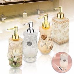 3D Resin Soap Dispenser Liquid Pump Bottle Home Office Hotel