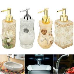 3D Resin Soap Dispenser Liquid Pump Bottles Home Office Hote