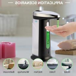 400ML Automatic Liquid Soap Dispenser Touchless Smart IR Sen