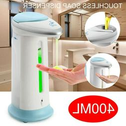 400ml Automatic Smart Touchless IR Sensor Soap Liquid Dispen