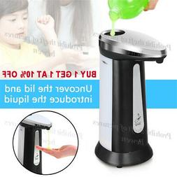 400ML Stainless Steel Hands Automatic IR Sensor Touchless So