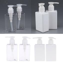 Perfeclan 4x Plastic Pump Bottle Shampoo Soap Dispenser Cont