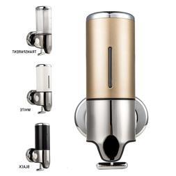500ml Bathroom Shower Soap Shampoo Gel Pump Dispenser Wall M