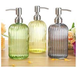 500ml Nordic Glass Hand liquid <font><b>Soap</b></font> <fon