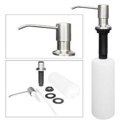 500ml Stainless Steel Kitchen Soap Dispenser DIY Sink Liquid