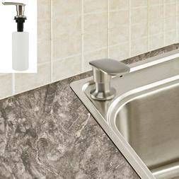 500ML Stainless Steel Soap Dispenser Kitchen Bath Sink Hand