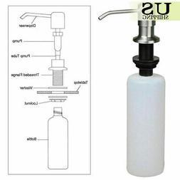 500ML Stainless Steel Soap Dispenser Sink Liquid Detergent P