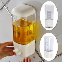 500ml wall mount bathroom soap dispenser shower