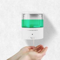 600ML Automatic Touchless Sensor Soap Dispenser Wall Mount B