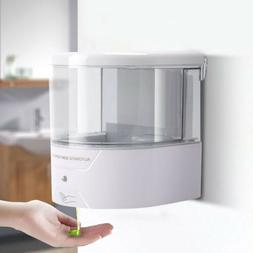 600ML Automatic Wall-Mount Infrared IR Sensor Soap Dispenser