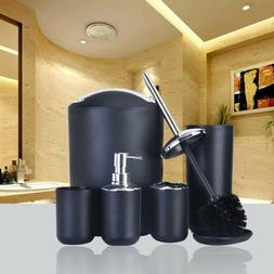 Fantastic 6Pcs Plastic Bathroom Accessories Set So Download Free Architecture Designs Scobabritishbridgeorg