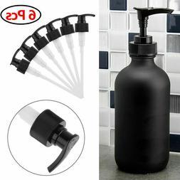 6x plastic replacement soap pump lotion dispenser