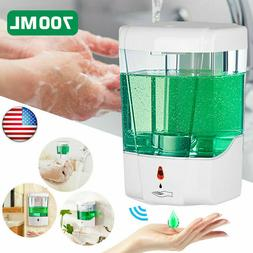 700ML Automatic Sensor Soap Dispenser Touchless Wall-Mount L