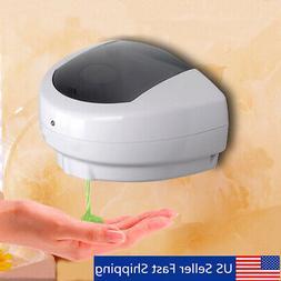 ABS Automatic Wall Mount Sensor Soap Dispenser Hands Free Wa