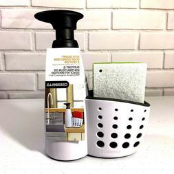 Casabella Sink Sider Soap Dispenser with Sponge Holder and S