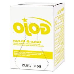 GOJO : Gold & Klean Lotion Soap Bag-in-Box Dispenser Refill,