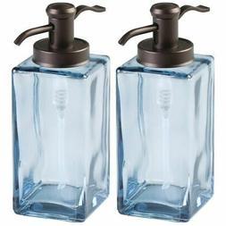 Hand Soap Glass Dispenser Pump Bottle for Kitchen Bathroom P