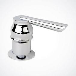 NEW Chrome Contemporary Soap Dispenser for Kitchen Faucet Si