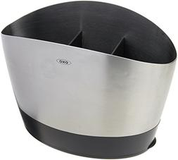 OXO Good Grips Brushed Stainless Steel Utensil Holder