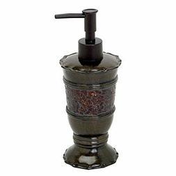 Zenna Home, India Ink Prescott Lotion or Soap Dispenser, Bro