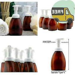 Cornucopia Brands Amber Foaming Soap Pump Dispensers ; 250Ml