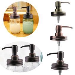 Anti-Rust Metal for Mason Jar Soap Lotion Dispenser Lid Pump