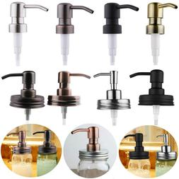 Anti-Rust Stainless Steel Soap Lotion Dispenser Lids Pump Fo